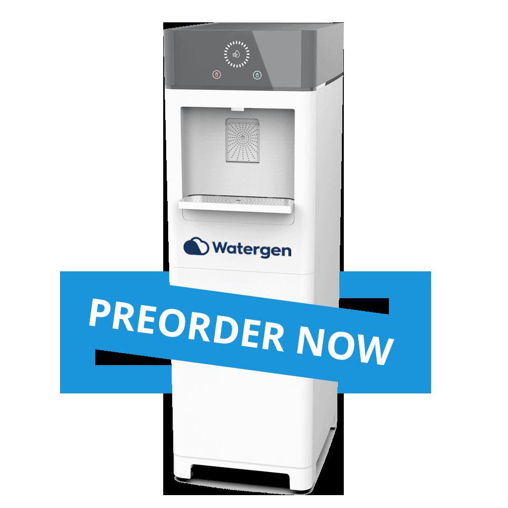 Watergen Water from air, Atmospheric water generator