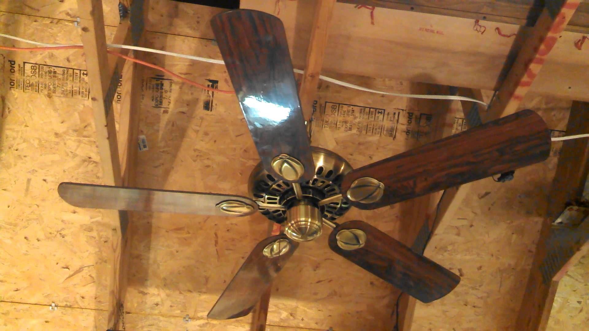Hunter Century Fan Antique