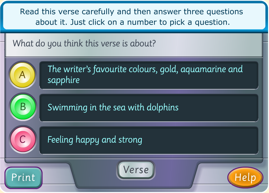 - Try This Fun Online Poem Game To Practice Reading Comprehension