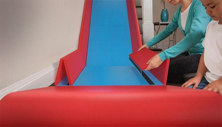 Genial Slide Rider   Attach Slide To Stairs   Turn Stairs Into Slide
