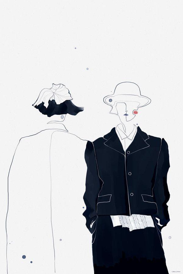 Photo of Fashion Illustrator: Velwyn Yossy