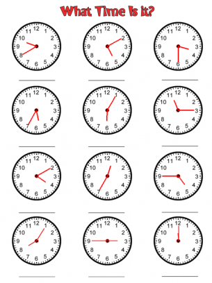 graphic about Printable Clock Worksheets referred to as Clock Year Worksheets Totally free Printable Worksheets 1st