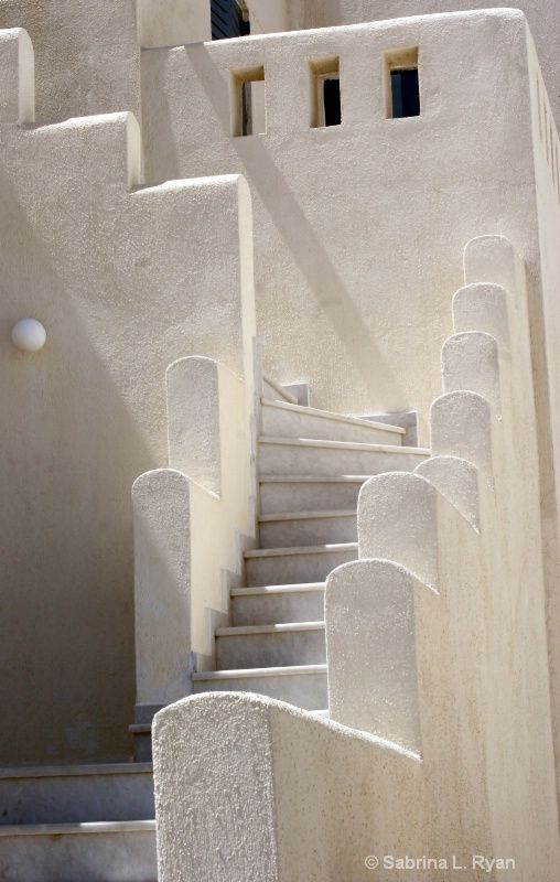 Greek Staircase © Sabrina L. Ryan, Island of Patmos, Greece