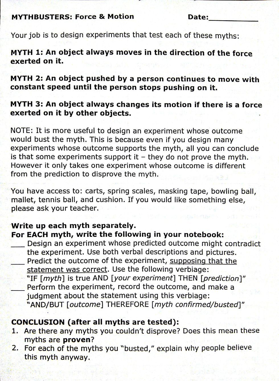 Worksheet mythbusters worksheet carlos lomas worksheet for everyone theteachyteacher can you walk on water scientific method awesomeness anyways science is awesome and grab this handy dandy printable about the here i couldnt ibookread Read Online