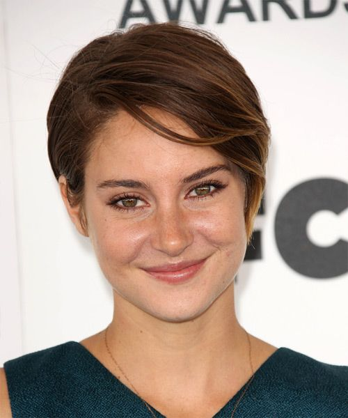 shailene woodley hair styles shailene woodley casual hairstyle with side 5376