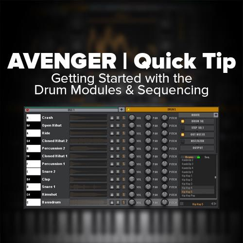 In this quick tip tutorial for the VPS Avenger VSTi I give