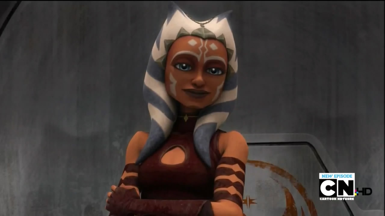 Smiling Ashoka but don't me with her | Star Wars: The ...