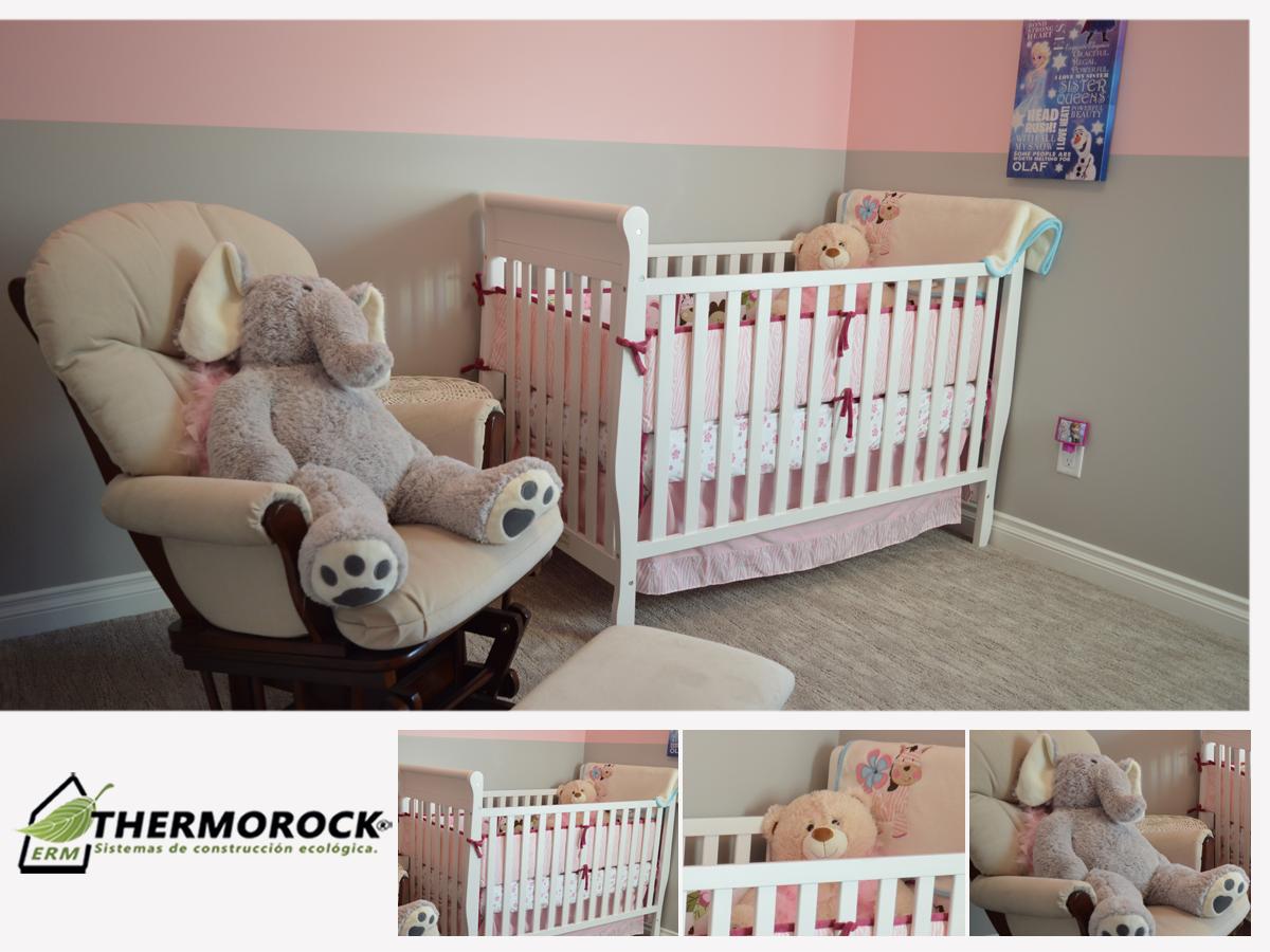 Con Aislafast Mantén Una Temperatura Agradable En La Habitación De Tus Hijos Conoce Más Información Aquí Cuarto De Bebe Cunas Para Bebes Colchón Para Cuna