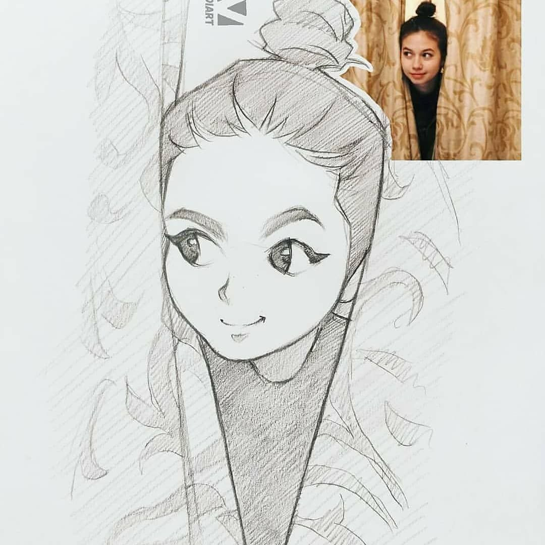 Drawingfusion Com Cartoon Drawings Of People Girl Drawing Sketches Artist Sketches