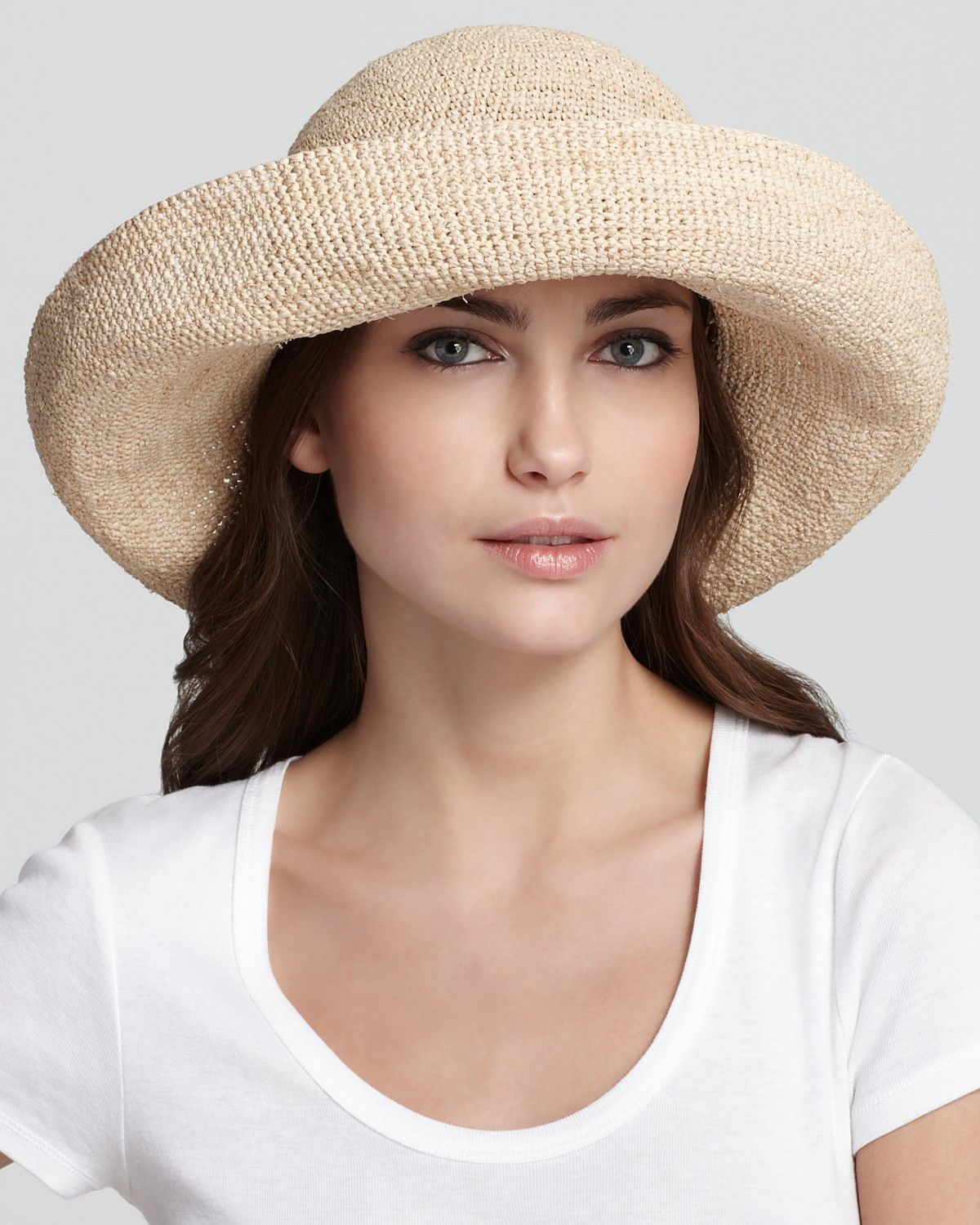 fd61bc7400a064 Helen Kaminski Provence 12 Crochet Hat | Bloomingdale's | ✤ ᘡ Mad ...