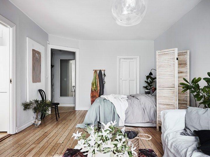 Un estudio escandinavo muy cozy | Decoración de interiores ...