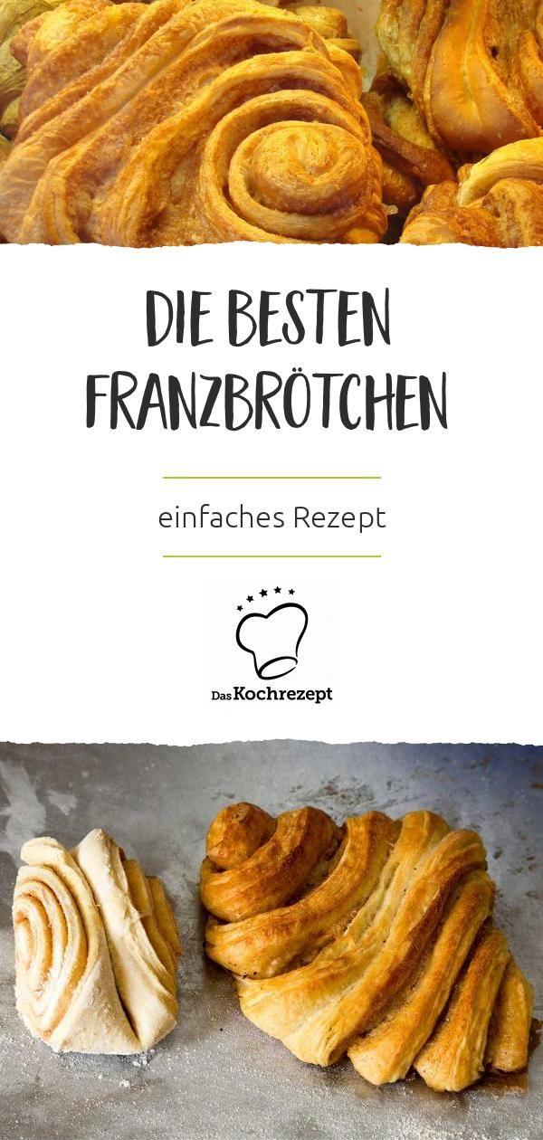 Franzmänner oder Franzbrötchen  – Deutsche Küche   German Cuisine