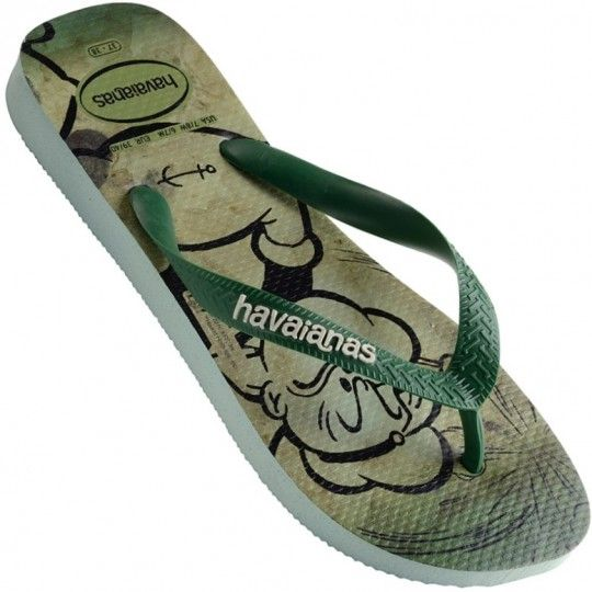35b4ba6c2 Chinelo Havaianas Popeye Masculino | Men's Slippers | Sandals, Mens ...