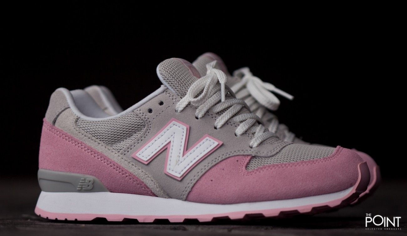 new balance mujer rosa y gris