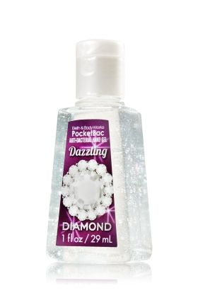 Dazzling Diamond Pocketbac Sanitizing Hand Gel Anti Bacterial