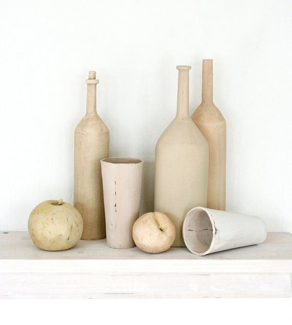 Ceramic still life for your mantle