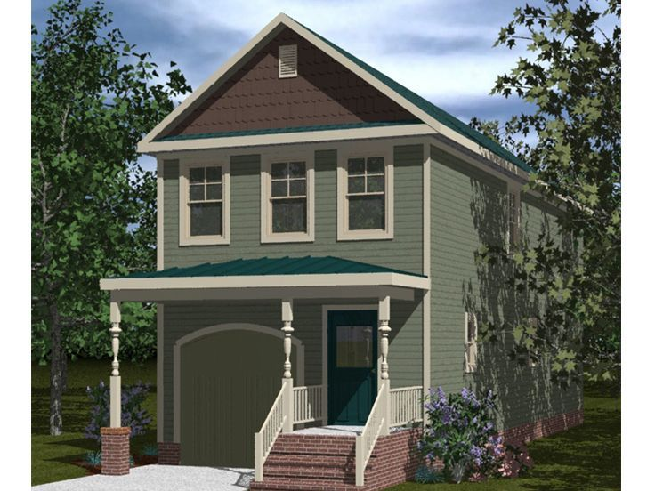 Victorian house plans affordable victorian home plan for Affordable garage plans