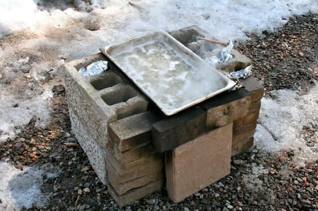 Dwight and Lucy's Backyard Maple Syrup Operation | Maple ...