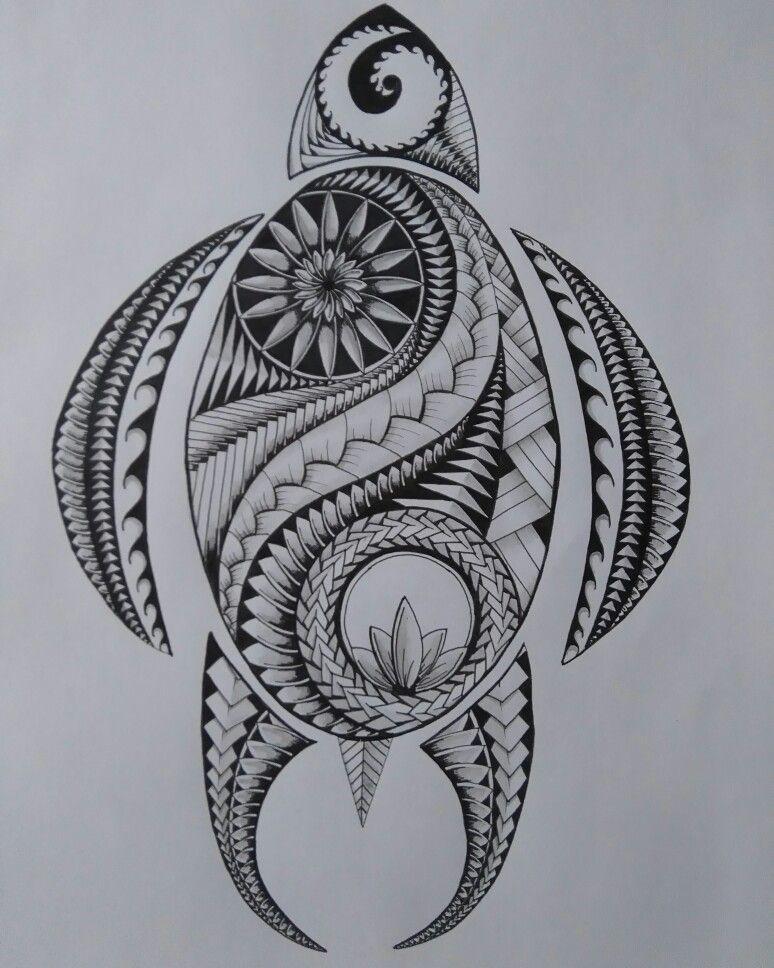 Tribal Tattoos, Tribal Turtle