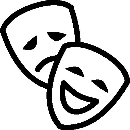 Exp Theater Theatre Logo Drama Ideas Icon