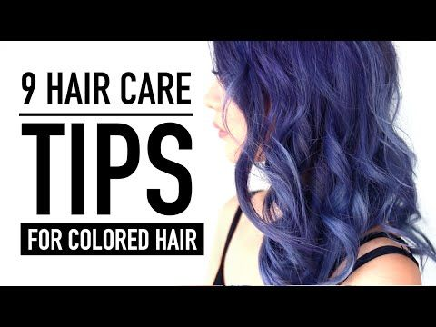 9 Hair Care Tips & Products ♥ New Color REVEAL! ♥ Hair Routine for Colored Hair ♥ Wengie - YouTube