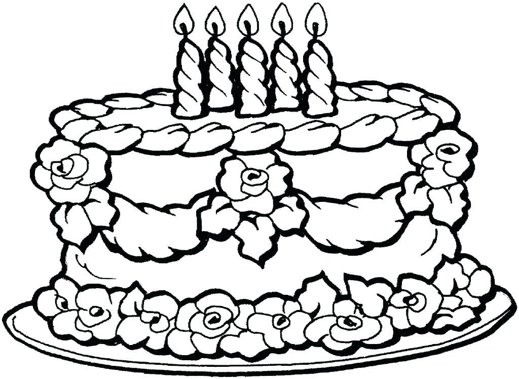 coloring pages of cakes coloring pages of cakes coloring pages of ...
