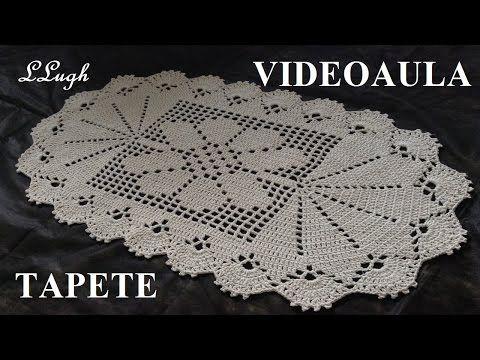 O Croche E Um Tipo De Artesanato Que Nao Sai De Moda Alem Da Possibilidade Tapetes De Croche Com Flores Tapete De Barbante Tapete De Croche