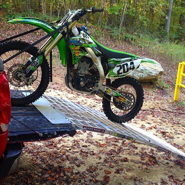 Dirt Bike Ramp >> Dirt Bike Loading Ramp Motorcycle Shark Kage