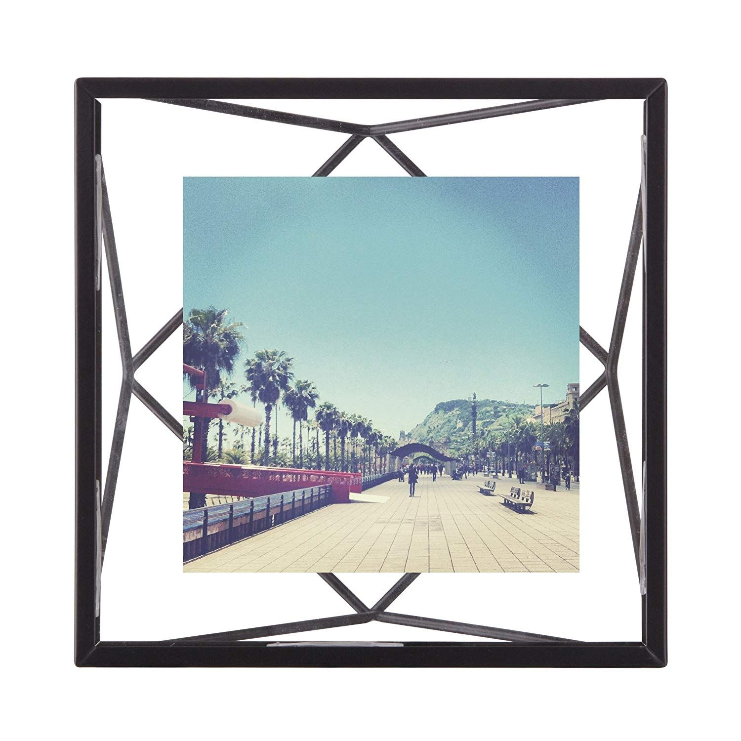 Umbra Prisma Picture Frame 4 By 4 Inch Black Multi