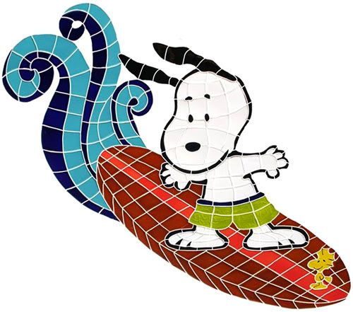 Snoopy Surfing!