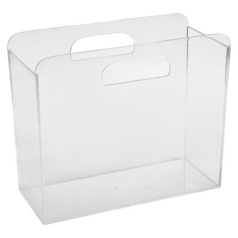 Room Essentials Clear Acrylic Table Top File Box Room Essentials File Box Acrylic Table