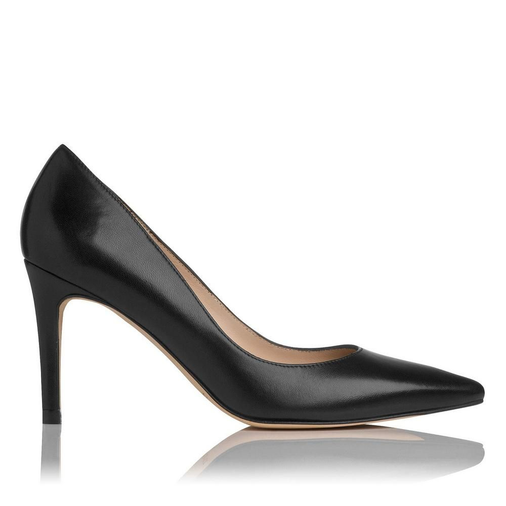 L.K. Bennett Leather Pointed-Toe Pumps sale geniue stockist PHYUaBFtrM