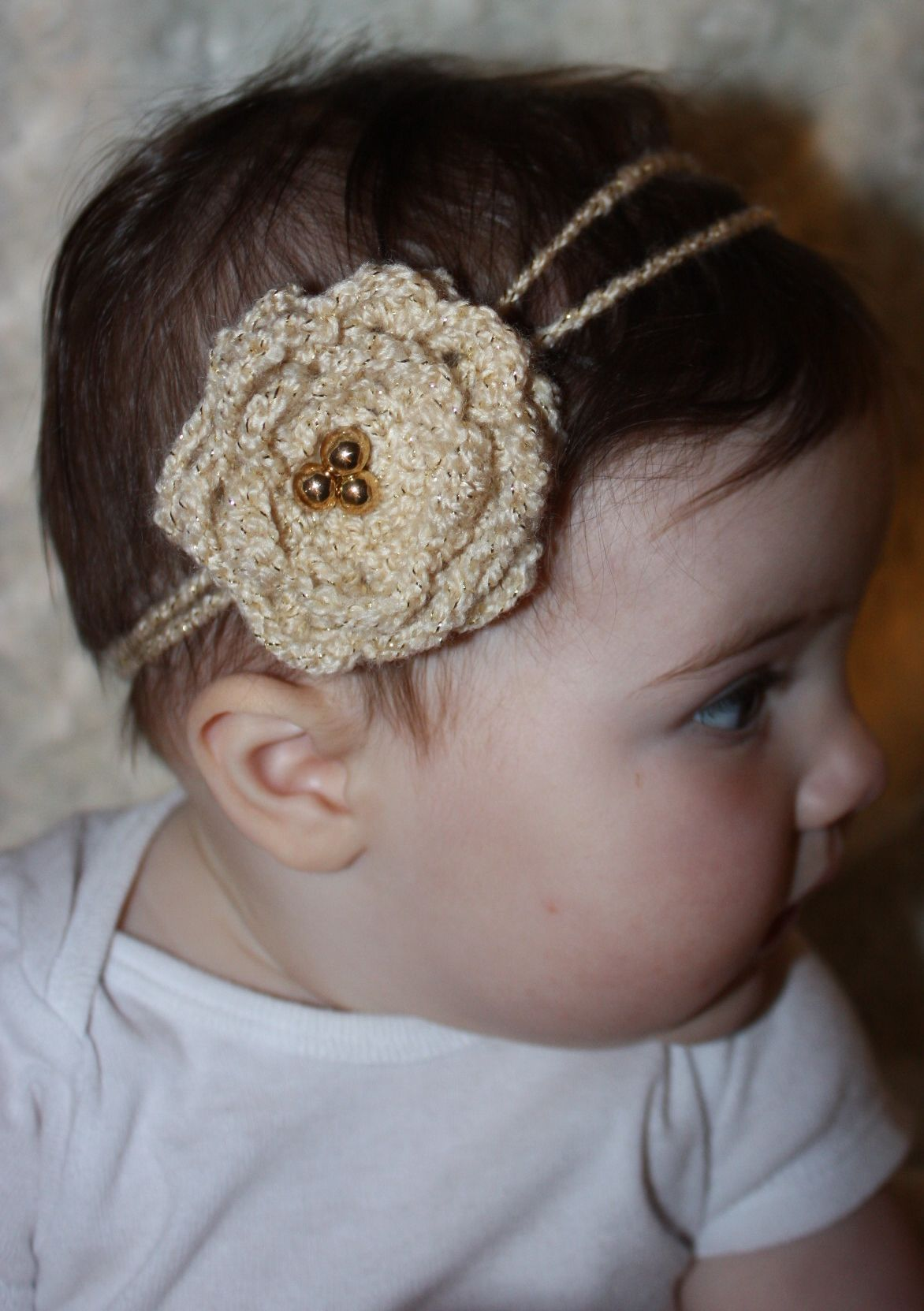 Baby Crocheted Headband | JoBi Accessories (www.jobiaccessories.etsy ...