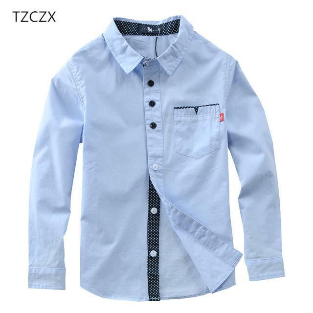 cf68e03cbc TZCZX 1 unids Venta Caliente Muchachos de Los Niños Camisetas de Algodón  Solid Camisas de Los