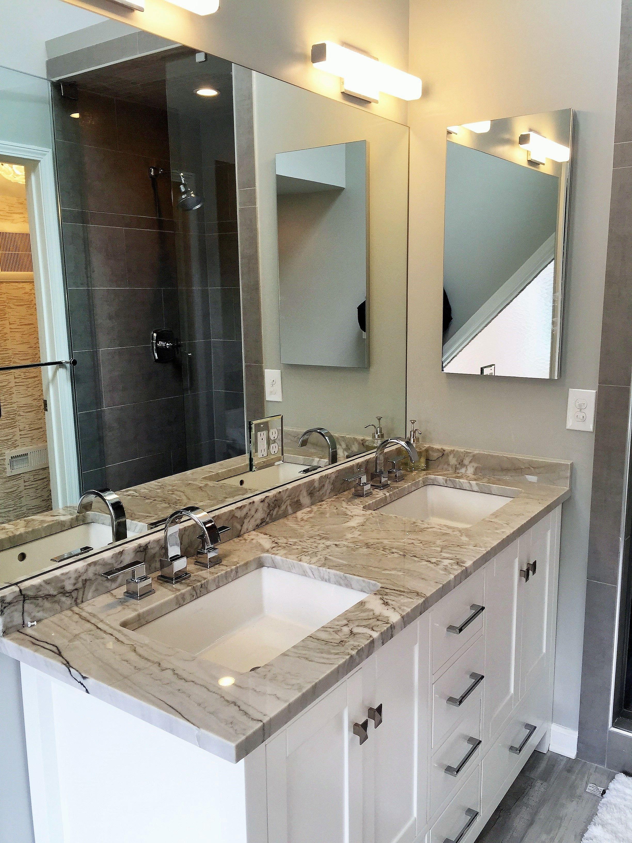 Bathroom renovation by Atlanta general contractor, Penn ...