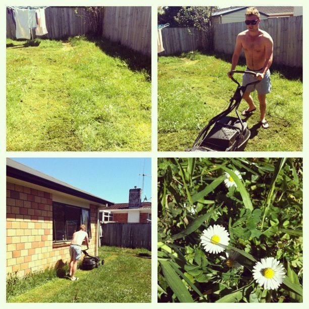 Lawn mowing xx