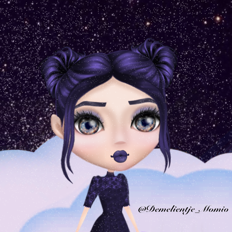 Momio Edit (No filter) hair dress eyebrows eyes lips