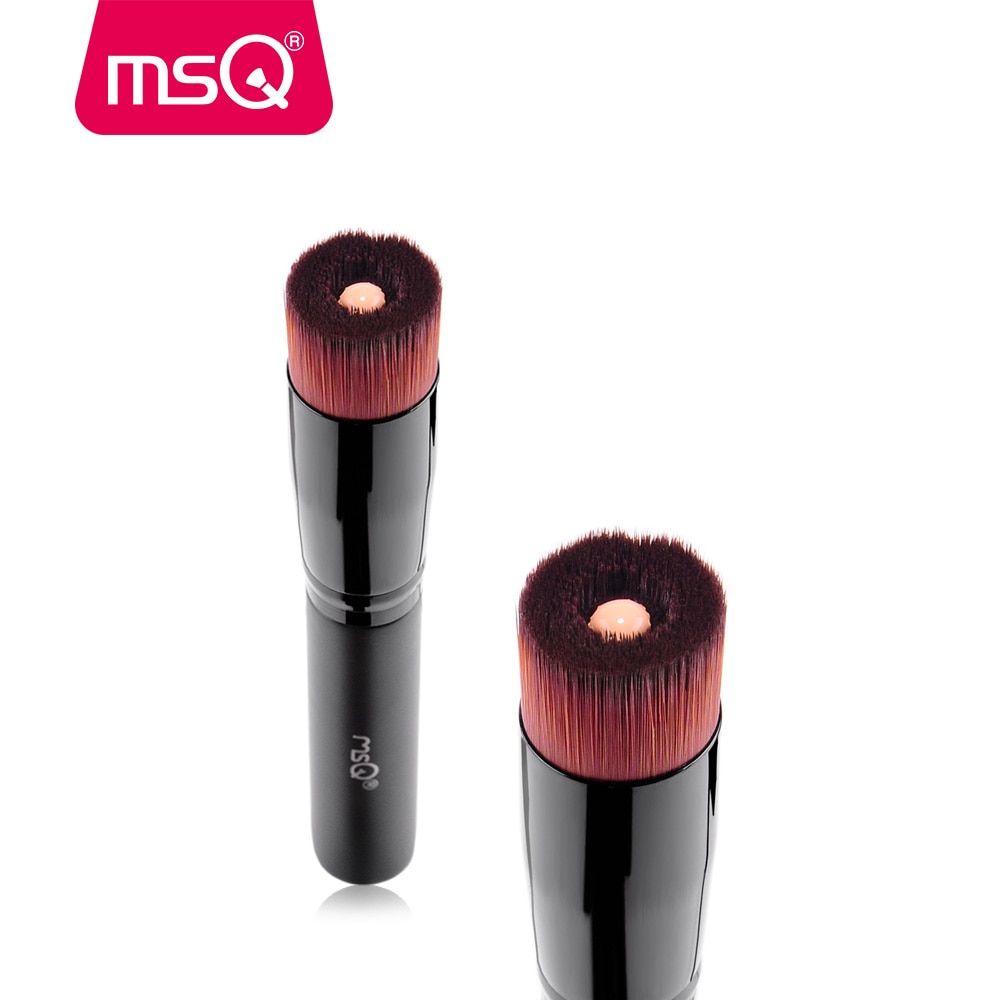 5c12742ee522 MSQ Liquid Foundation Oval Makeup Brush Professinal Eyeshadow Powder ...