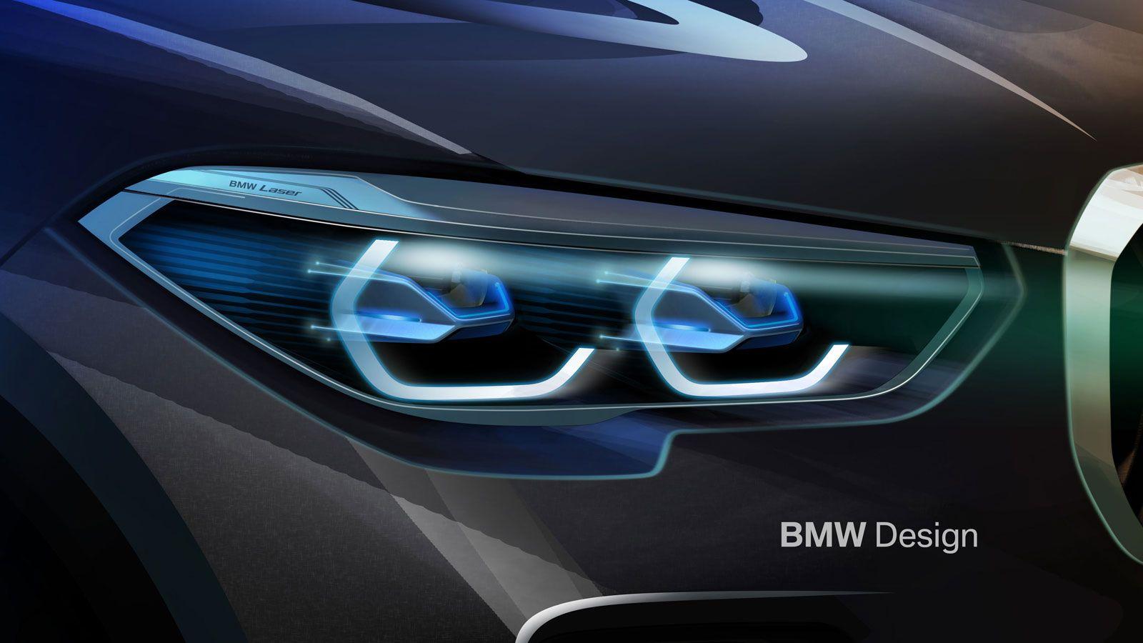 New Bmw X5 Headlight Design Sketch Render Bmw X5 Bmw New Bmw