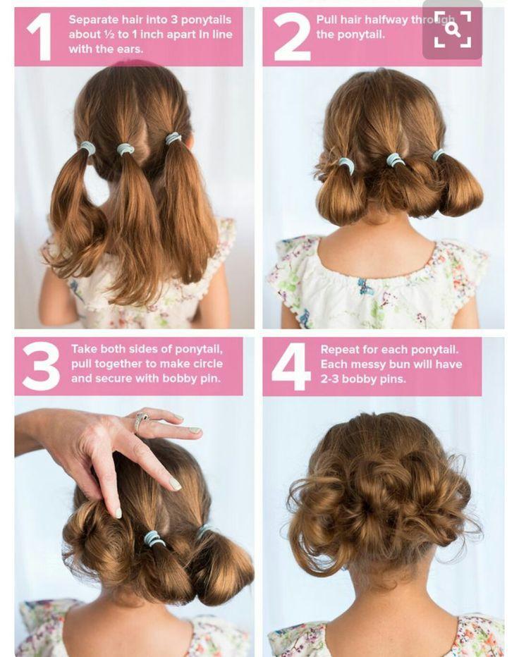 Strange Little Buns Hair Styles Girl Hairstyles Kids Hairstyles