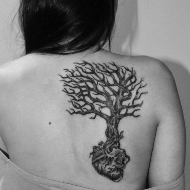 Pin By Jazzy Jazz On My Body The Canvas Heart Tattoo Tree Roots Tattoo Tattoos