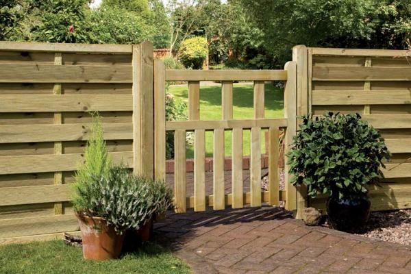 Porte de jardin en bois idées et instructions de montage Jardín