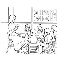 Resultado de imagen de prestar atencion en clase dibujo