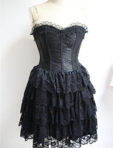 vintage victorian steampunk corset gothic style dresses