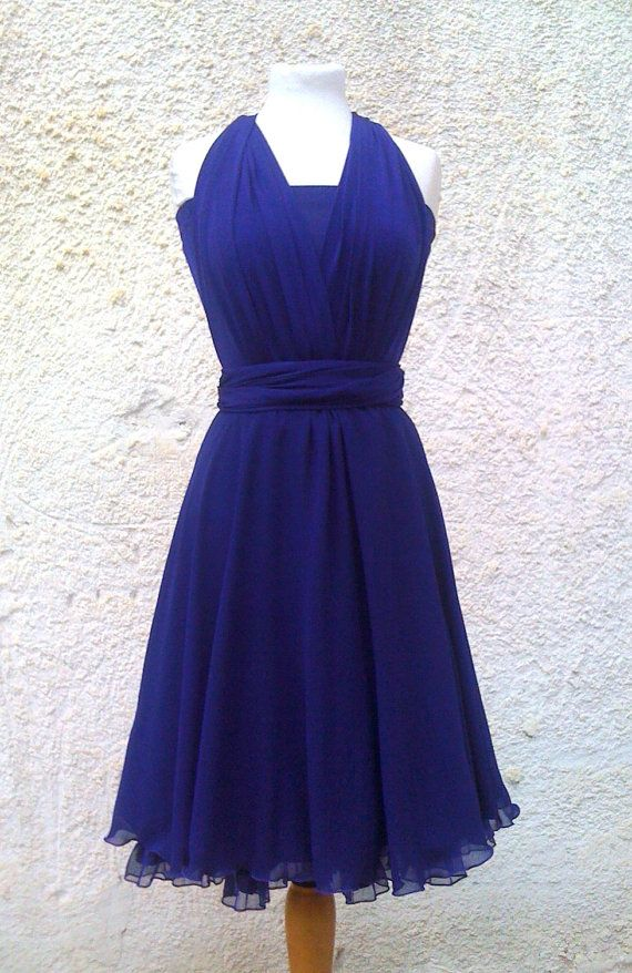 Infinity Dress two layers with chiffon in color blackberry with pettycoat  Bridesmaids dress free shipping f620b3b48daa