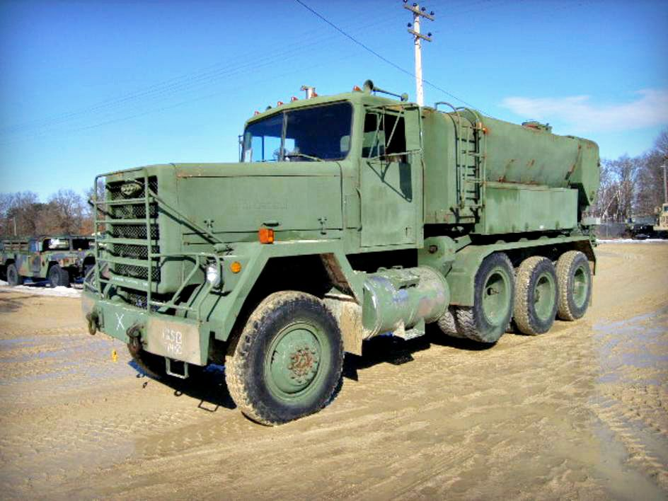 1979 Am General M919 Truck Concrete Mixer Mobile 22 1 2 Ton 8x6 With 8 Cubic Yard Mixer Manufacturer S Seria Army Vehicles Military Vehicles Military Jeep