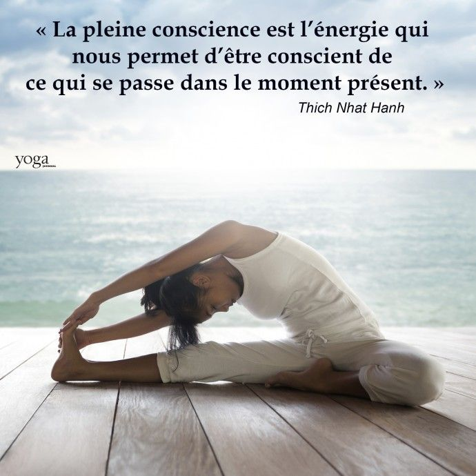La Pleine Conscience Pleine Conscience Yoga Journal Citations Yoga