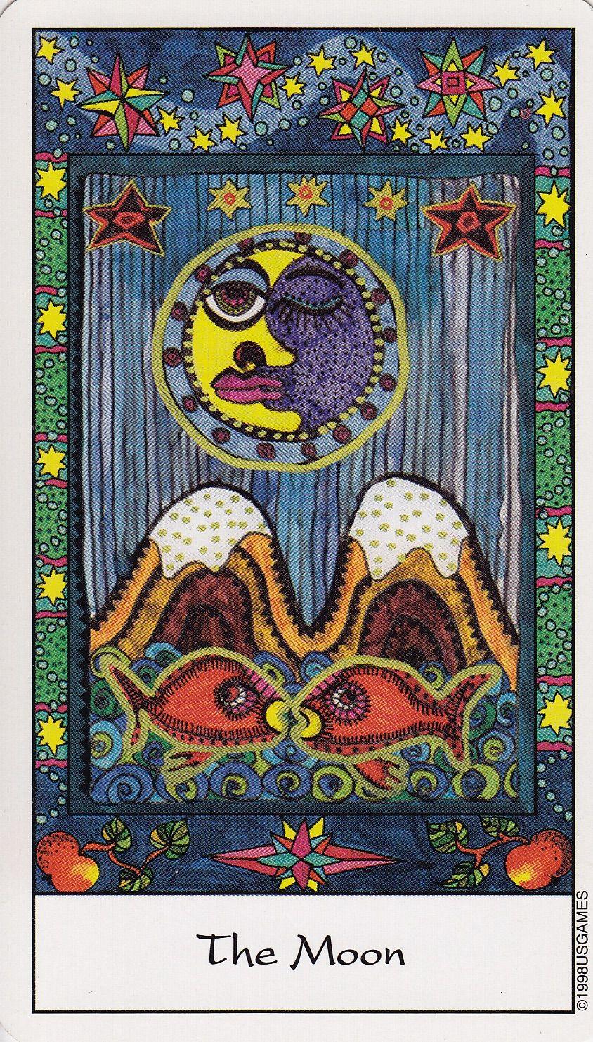 Briyah the moon tarot tarot cards major arcana tarot