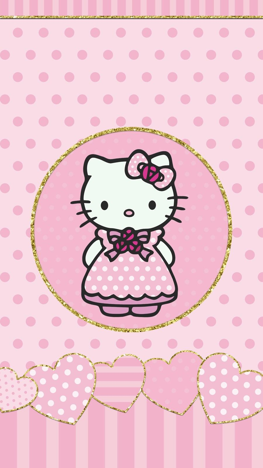 Hello kitty princess pink wallpaper android iphone - Princesse hello kitty ...