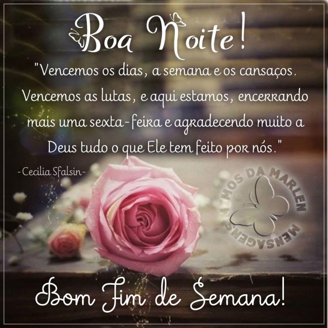 Boanoite Bomfimdesemana Bomdescanso Mensagens Mimosdamarlen